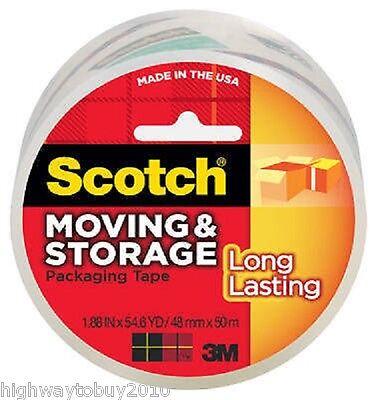 (6) rolls 3M SCOTCH 3650 1.88