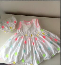 Beautiful spring/ summer dress from mothercare 6-9months