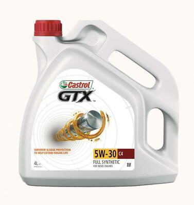 ENGINE OIL CASTROL GTX 5W30 C4 4L, usado comprar usado  Enviando para Brazil