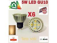 LED 5W GU10 LAMPS