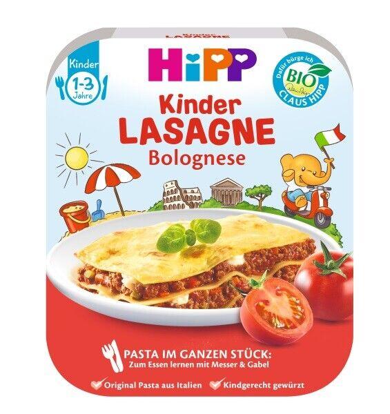 Hipp Pasta im ganzen Stülck Lasagne Bolognese 250g 11050389  (0,01 EUR/ml)