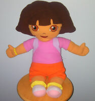 Stuff Dora the exploror with back pack doll