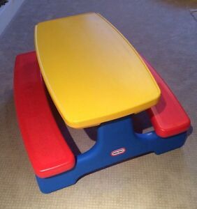 Little Tikes Picnic Table / Craft Table