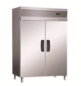 Commercial Upright Fridges - Two Door Stainless Steel Solid 1306L Dandenong Greater Dandenong Preview