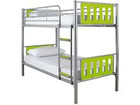 Kidspace cyber bunk beds with luxury mattresses. Used only twice.Excellent condition.