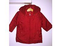 Designer girls coat by Mayoral - 6-12m