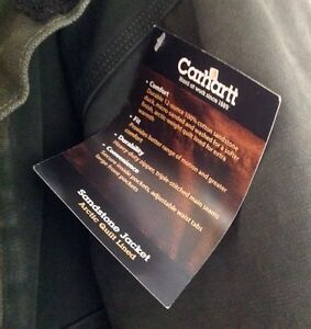 Carhartt - Insulated Work Jacket - New with Tags - Medium Kingston Kingston Area image 4