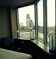 DOWTOWN MONTREAL FULLY FURNISHED STUDIO (1 1/2 ) CONDO