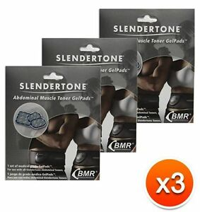 9 Gel Pads Replacement For Slendertone Ab Belt Flex Pro Go System 3 SETS of 3