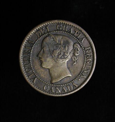 1859 Canada Large Cent Victoria