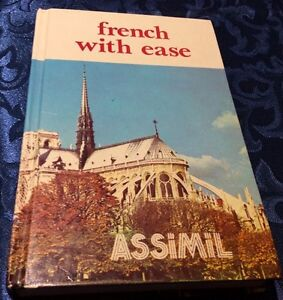 FRENCH WITH EASE LEARNING KIT BOOK & AUDIO CASSETTES