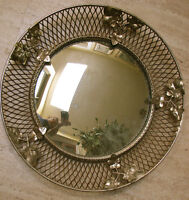 Retro / Vintage Mirror Convex 1960