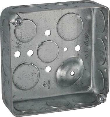 New Lot 6 Raco 8192 Metal 4 X 1 12 2 Gang Electrical Boxes 6812903