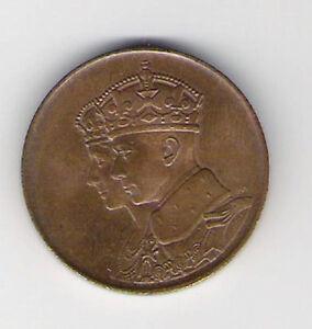 Medallion 1939 Royal Visit Canada Queen Elizabeth Kingston Kingston Area image 1