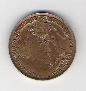 Medallion 1939 Royal Visit Canada Queen Elizabeth Kingston Kingston Area image 2