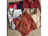 Boys shorts bundle 9-10 years