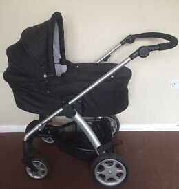 Mamas and papas sola with seat and carrycot