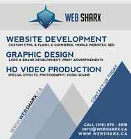 Affordable Website Development, Graphic Design, and Editing