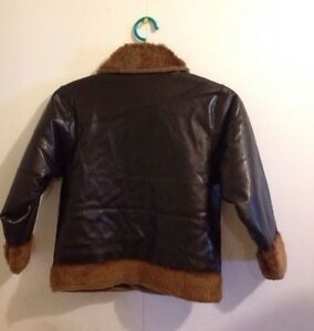 BRAND NEW BOYS REVERSIBLE LEATHER JACKET Cornwall Ontario image 2
