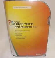 Genuine Microsoft Office Home and Student 2007 with key
