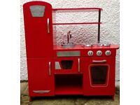 Children's Wooden Toy Kitchen