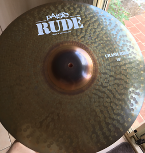 Paiste RUDE Cymbals and DW 9000 Double Pedals Croydon Maroondah Area Preview