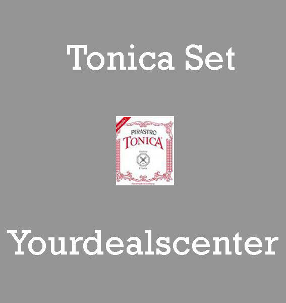Tonica Violin String Set 4/4  with Wound E Loop End