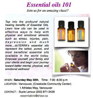 ESSENTIAL OILS 101 !!