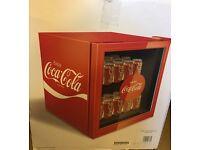 Husky Coca-Cola Refrigerator