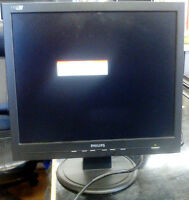 Philips 17 inch LCD monitor in Working Condition