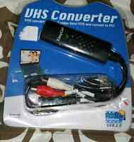 VHS converter you plug it into computer