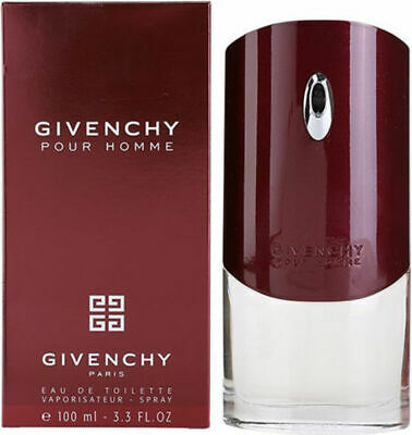 GIVENCHY POUR HOMME 100ML EAU DE TOILETTE SPRAY BRAND NEW & SEALED