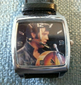 Elvis Collector wrist watch
