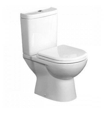 Tavistock Micra compact Short Projection Close Coupled Toilet Wc Pan Seat 605mm