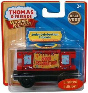NEW-IN-BOX-Thomas-Tank-Engine-SODOR-CELEBRATION-MUSICAL-CABOOSE