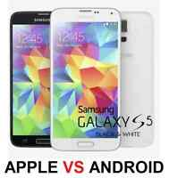 SAMSUNG S5 S4 S3 NOTE 4 NOTE 3 NOTE 2 SCREEN REPAIR $60.00