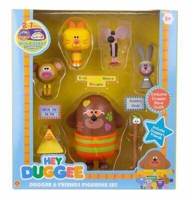 HEY DUGGEE & Friends 7 Figure CHARACTER GIFT PACK Figurine Set