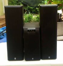 Yamaha YST-SW160/90 Sub Woofer and Speakers Canning Vale Canning Area Preview