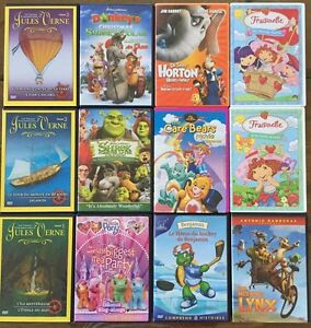 Lot 12 films DVD enfants 4$/films ou 30$ le lot