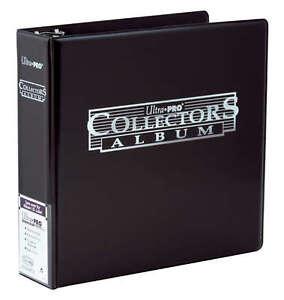 3-Ring Black Ultra Pro Collector Album Card Storage Folder | MTG Yugioh Pokemon