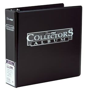 Ultra Pro 3-Ring Collector Trading Card Album (Black) NEW cards folder binder