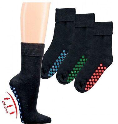 1, 3 oder 5 ABS Socken ab 3,98€ / Paar Stoppersocken Noppen 35-38 39-42 43-46 ()
