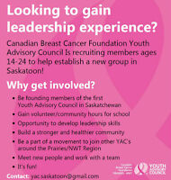 Youth Advisory Council - Canadian Breast Cancer Foundation