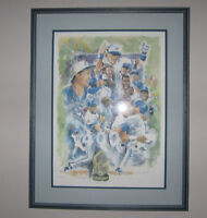 Toronto Blue Jays On Top of the World Lithograph 92 World Series