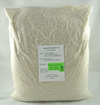 25 kg Ammonsulfatsalpeter Stickstoffdünger für Gemüse, Obst.- und