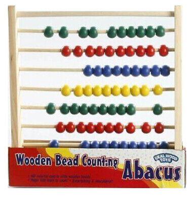 HOMEWARE - Wooden Bead Counting Abacus - 1 Count