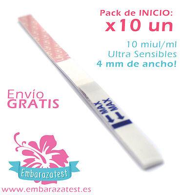 10 test de Ovulación - 20 miu/ml super eficaz - ¡Busca tu...