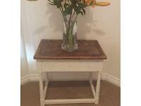 Shabby Chic antique table - Annie Sloan Chalk Paint & Wax - £45