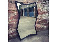 Large modern contemporary mirror