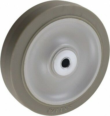 - Glide Maxx 5 Inch Diameter x 1-1/4 Inch Wide, Soft Rubber Caster Wheel 200 Lb...